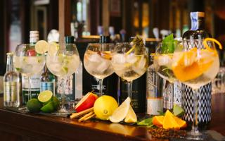 craft gin club gin and tonic crisps aldi