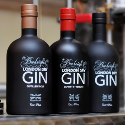 burleigh gin signature edition distiller cut export strength