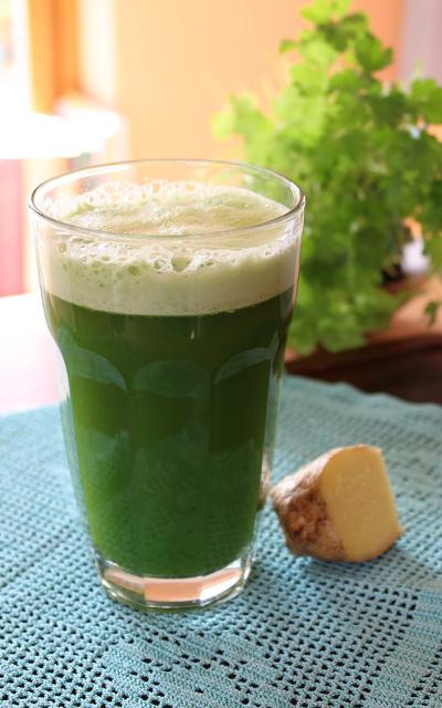 coriander detox juice