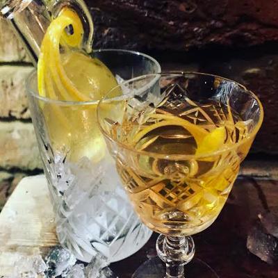 powder keg diplomacy london gin joint bar signature cocktail henry martini rifle