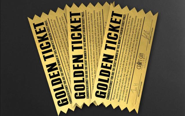 golden ticket winner