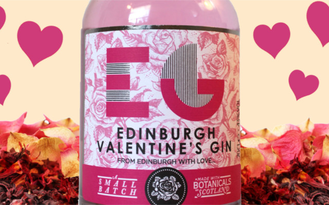 edinburgh gin valentines