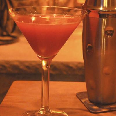 edinburgh gin valentines heartini cocktail