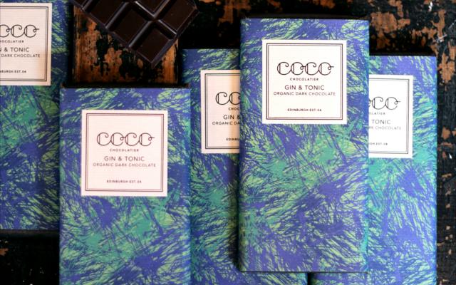 coco chocolate gin and tonic