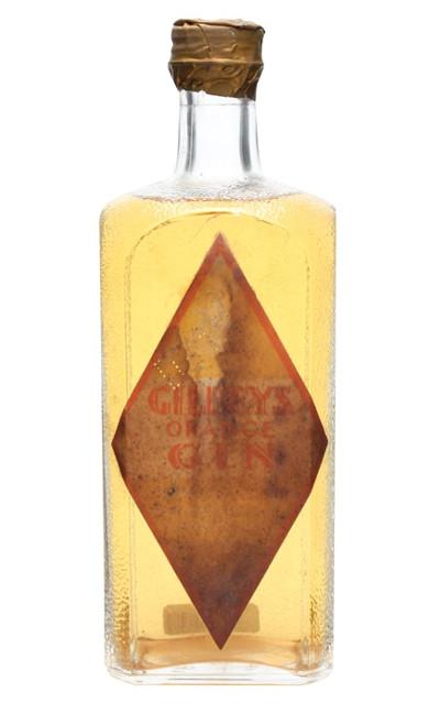 gilbeys orange gin