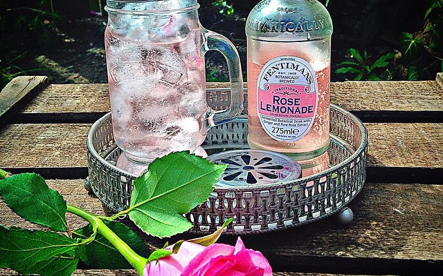 rose lemonade fentimans gin