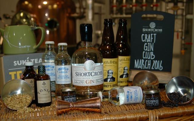 shortcross gin hamper