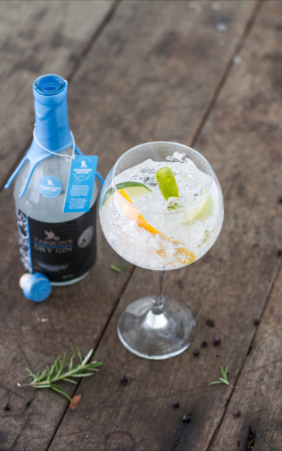 Tarquin's Gin is a permanent feature on the Dolly's menu.