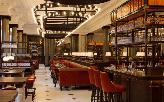The Gin Bar Holborn  Dining Room