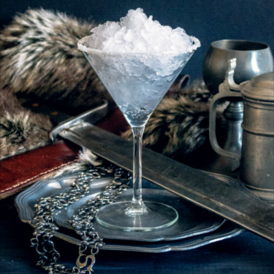 house stark game of thrones martini cocktail