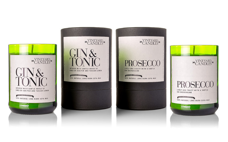 gin and tonic g&t candles