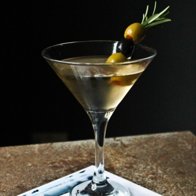 Tarquin's rosemary and thyme martini gin cocktail