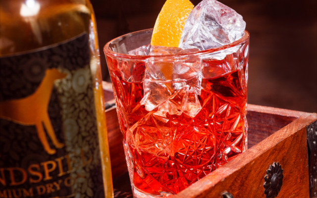 windspiel cocktail gin negroni