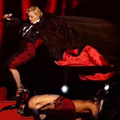 Madonna cape gate brit awards