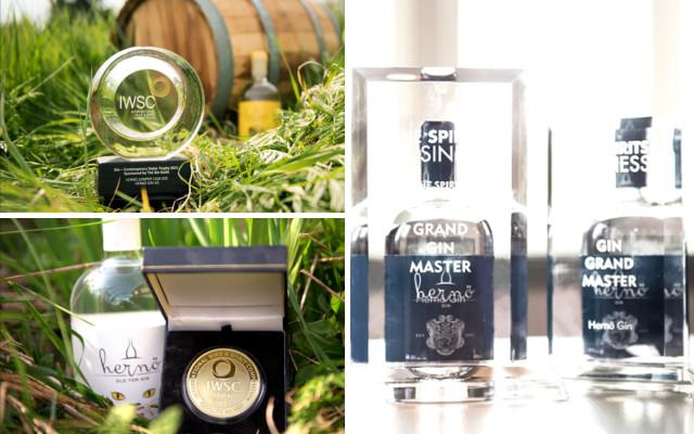 herno gin iwsc award distillery