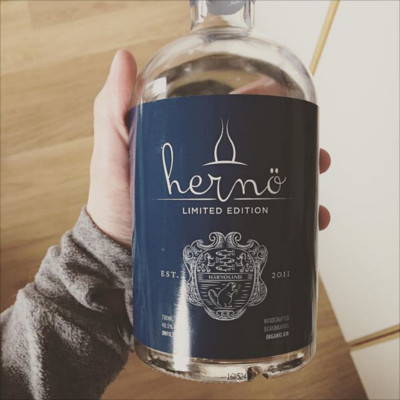 Herno gin limited edition swedish month