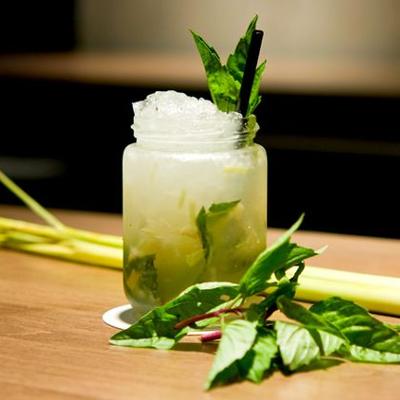 lemongrass fusion gin cocktail