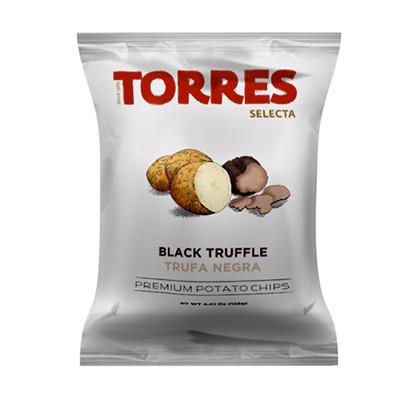 patatas torres black truffle potato crisps