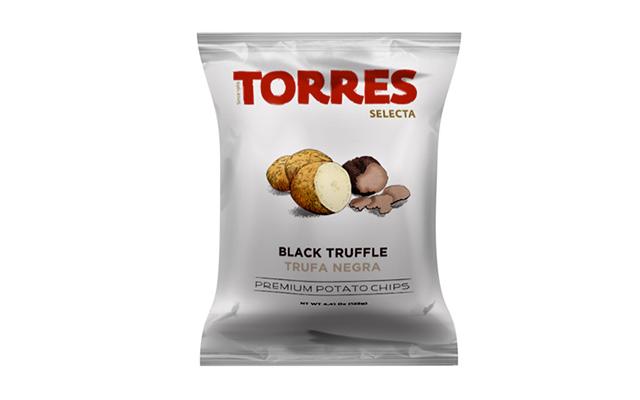 black truffle premium potato chips crisps torres