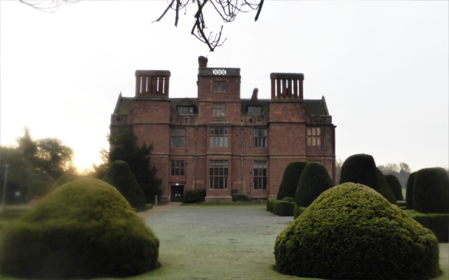The Bloody Hand of Condover Hall, Shropshire Spooky gin joint