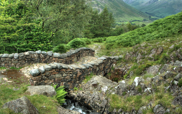 The Spectral Woman of Wasdale Corpse Road, Cumbria gin joint