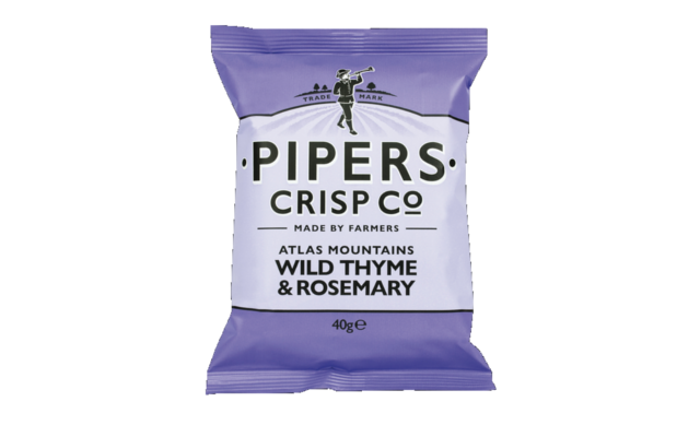 Pipers crisp co wild thyme and rosemary