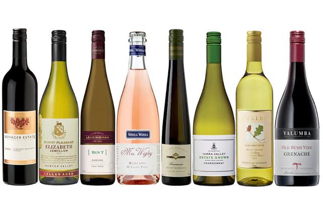 Wine selection hamper