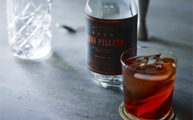 four pillars mixing negroni
