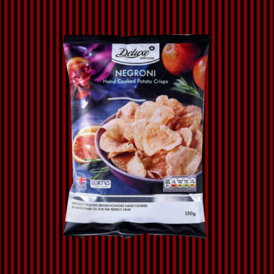 Lidl Negroni flavoured crisps