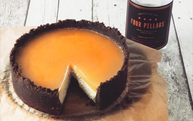 Four pillars gin cheesecake