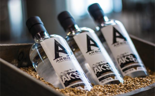 Arbikie Gin bottles