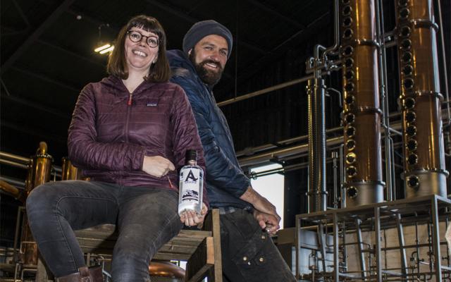 Arkbikie Gin distillers