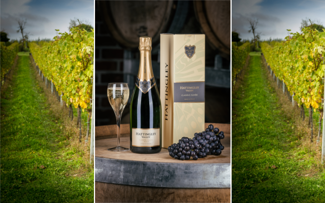 Hattingley Valley English sparkling wine fizz