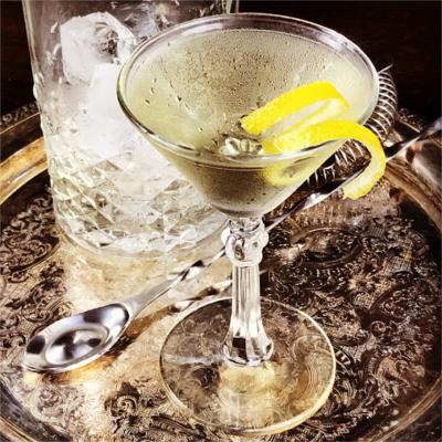 Smoky martini for Burns night