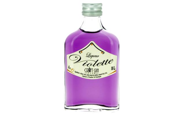 Liqueur violette craft gin club creme
