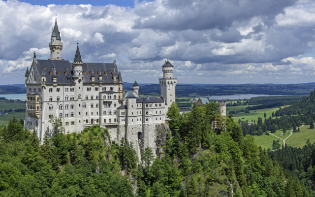 German alpine castle