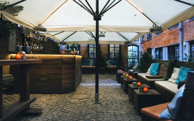 Fugu Copenhagen Unique Garden Union outdoor bar