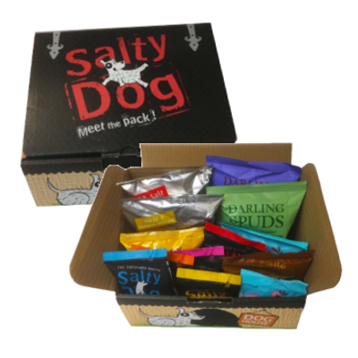 Salty Dog Snack Box Gourmet crisps