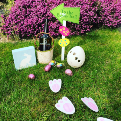 Kongsgaard Easter Bunny themed ginstagram
