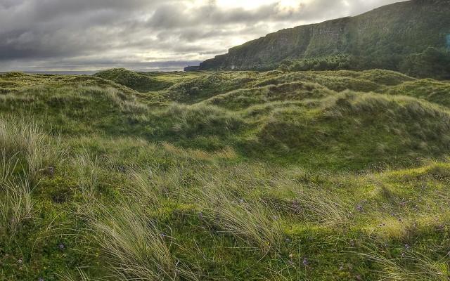 Derry Umbra Nature Reserve grasslands beautiful scenary