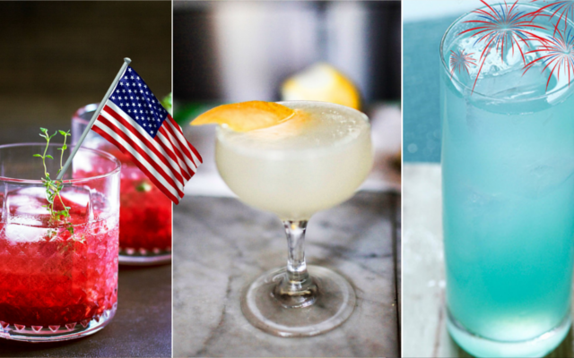 Red, White And Blue Cocktails To Gin Up Your 4th Of July