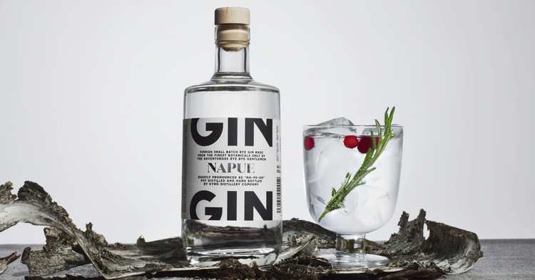 Kyro distillery napue gin and tonic world best august month box