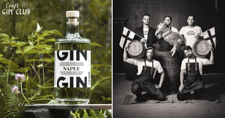 Kyro napue gin distillery bottle finnish finland