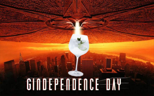 Independence Day gin parody