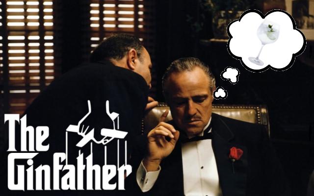 The Godfather gin parody