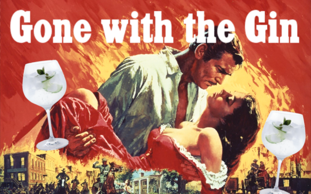 Gone with the Wind gin parody