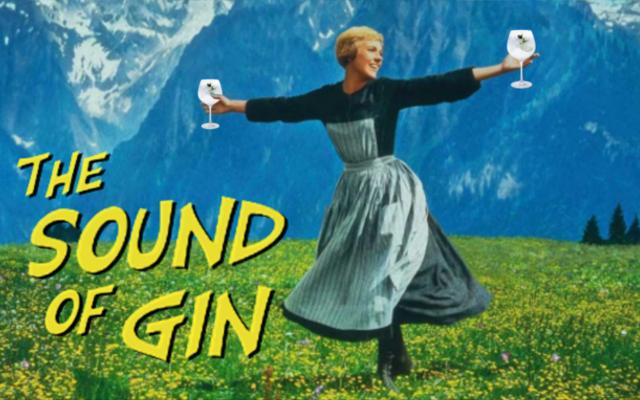 The Sound of Music gin parody