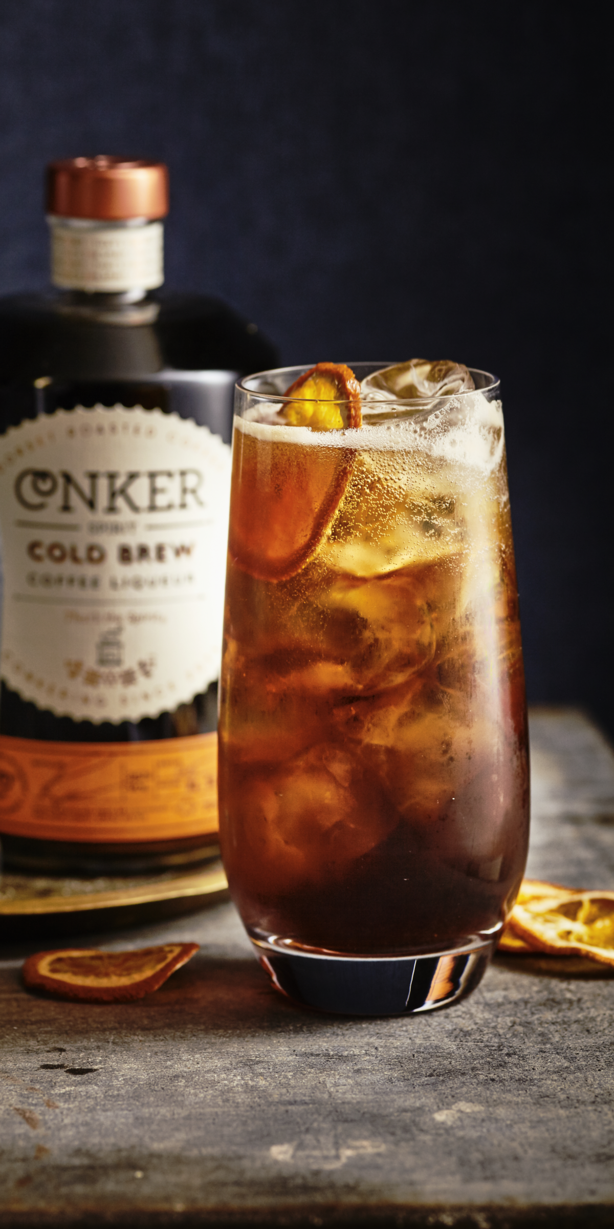 conker cold brew gin and toinic turbo g&t