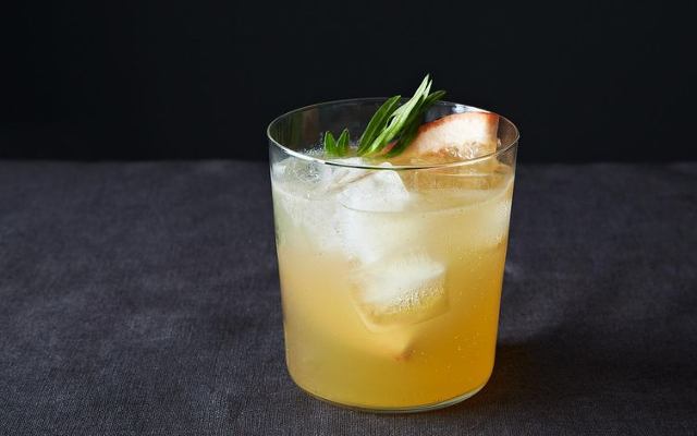 Grapefruit Tarragon Gin Tonic