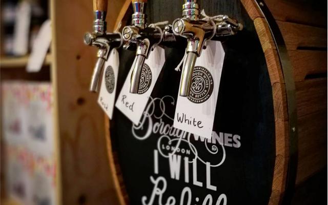 Borough Wines taps